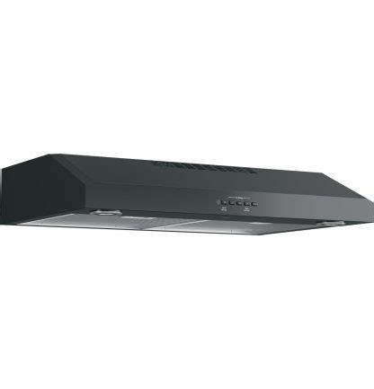 ge jvx   convertible  cabinet range hood  appliances