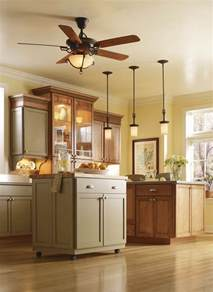 perfect fan kitchen ceiling ideas with hanging lighting
