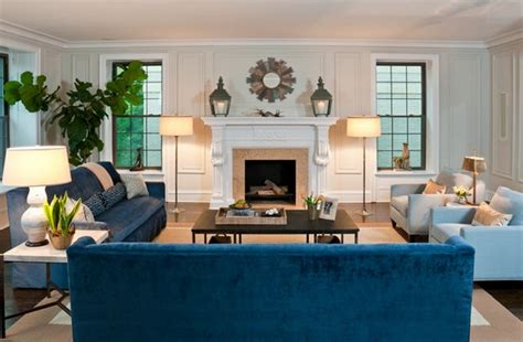 Decorating With A Blue Sofa by 20 Impressive Blue Sofa In The Living Room Home Design Lover