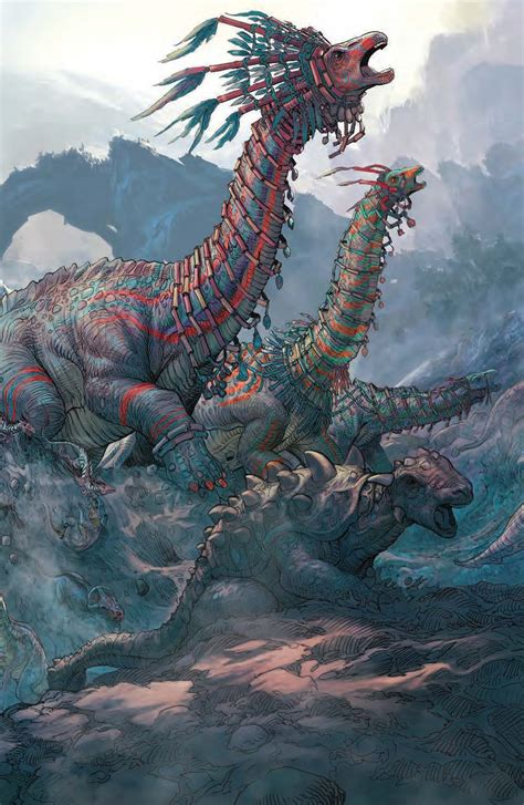 dynamite barry sonnenfelds dinosaurs  aliens hc