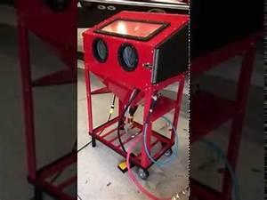 Harbor Freight Blast Cabinet Upgrade | Cabinets Matttroy