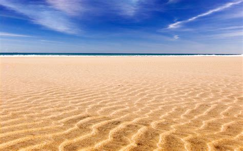 Ocean landscapes beach sand skyscapes wallpaper