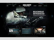 Call of Duty Black Ops Website Alex Louie Freelance