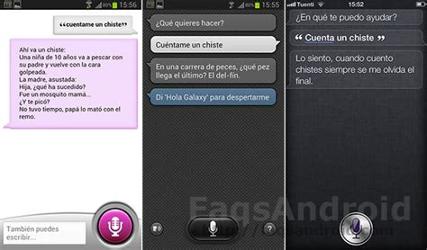 what is android s siri asistentes virtuales por voz siri vs sherpa vs s voice