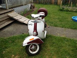 1967 Vespa Sprint 150  Vlbit  Maintenance Record  Pictures Of The Red  U0026 White 1967 Vespa With