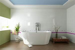 Farbe Für Badezimmer : wanddekoration im badezimmer farben bilder deko f r 39 s bad ~ Lizthompson.info Haus und Dekorationen