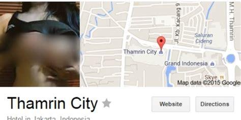 gambar wanita vulgar muncul kala cari thamrin city