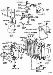 Toyota Starlet Clamp  Hose  Engine