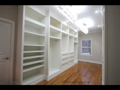 woodwork build your own walk in closet shelves plans pdf