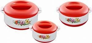 Thermoschüsseln Mit Deckel : king thermobeh lter 3 st ck premium red kaufen otto ~ Watch28wear.com Haus und Dekorationen