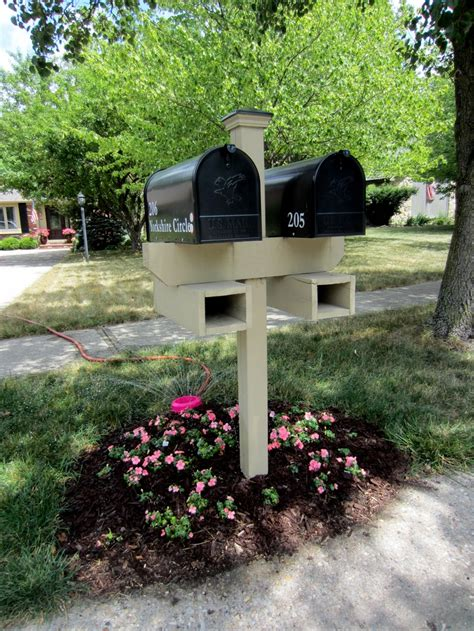 wood mailbox post lowes woodworking projects plans