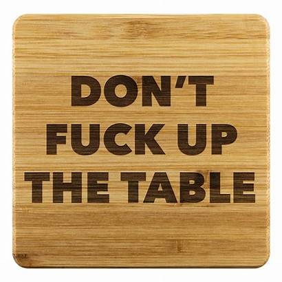 Coasters Funny Coaster Wood Gifts Cool Drink