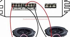 Free Schematic Diagram  Bridging Car Audio Power