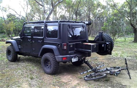 bike jeep rack wrangler carrier bicycle isi racks jk carriers offroad door systems ever advanced australia grateful customer service recommend