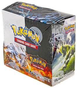 pokemon usa pokemon black and white booster box