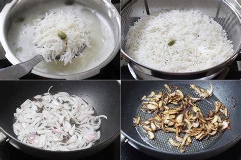Hyderabadi Egg Dum Biryani Recipe