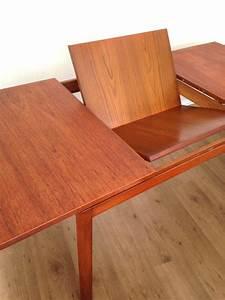 Table A Manger A Rallonge : table manger teck white newton 1960 vendue room 30 ~ Teatrodelosmanantiales.com Idées de Décoration