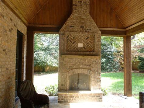 patio in set raleigh durham outdoor fireplace builder