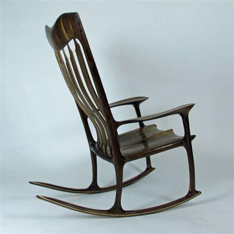 maloof rocking chair dimensions maloof style walnut rocker by woodbridge lumberjocks
