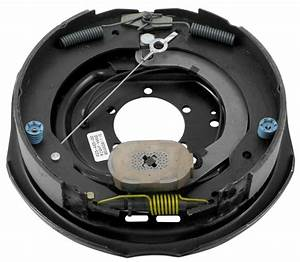 Dexter Nev-r-adjust Electric Trailer Brake Assembly - 12 U0026quot  - Right Hand