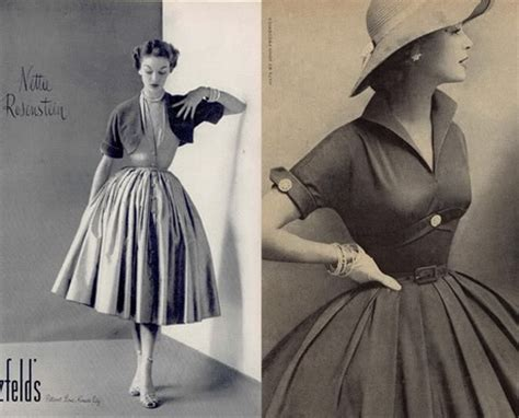 Die 50er Mode by Mode In Den 50er Jahren