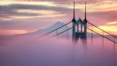 Bridge Portland Johns St Wallpapers 4k Backgrounds