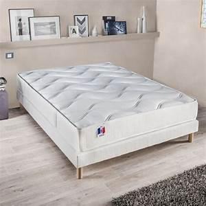 Matelas Hotel Luxe : confort design ensemble matelas sommier gari 160x200 cm latex ferme 80 kg m3 2 ~ Voncanada.com Idées de Décoration