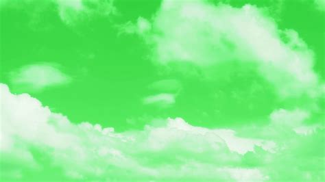 Best Cloud Green Screen Video Background Realistic Free