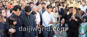 Udupi: Jacintha Saldanha Laid to Rest at Shirva Amid Sea ...