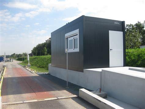bureau prefabrique construction d 39 un local gardien modulaire et d 39 un bureau