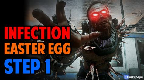 exo zombies infection exo zombie infection easter egg step 1 youtube
