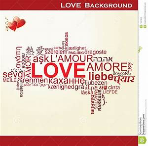 Love - Word Collage Royalty Free Stock Images - Image ...