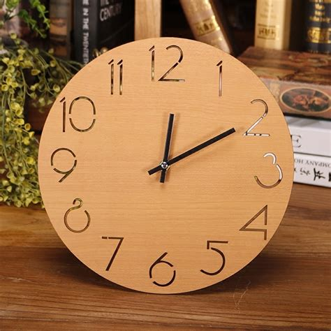 Buy the best and latest wall clock decor on banggood.com offer the quality wall clock decor on sale with worldwide free shipping. Round Wall Clock Wooden Digital Large Decorative Wall ...