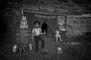Photographer Sends His Kids Back In Time With These Moving ...