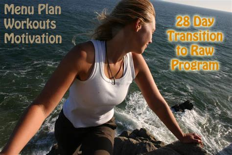 a 100 transition to a food diet