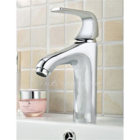 single hole chrome cheap bathroom faucets