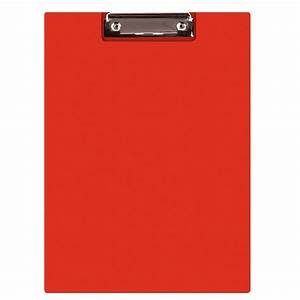 clipboard q connect file pvc a4 red samfix With document clipboard