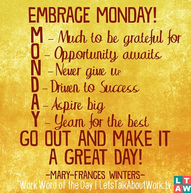 monday quote image google search everyday   week
