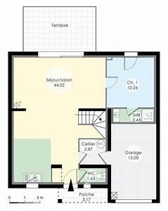 le plan du rez de chaussee nous montre un immense salon With le plan d une maison 10 frites maison