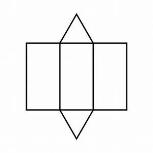 Triangular Prism Net | www.imgkid.com - The Image Kid Has It!