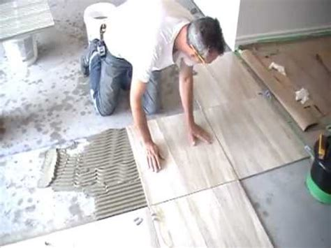 installing floor tile installing tiles bathroom kitchen basement tile