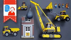 Learning Construction Vehicles For Kids With Lego