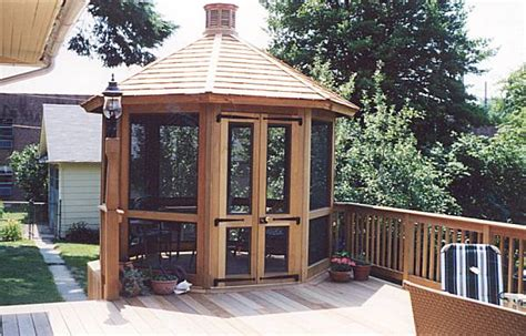 pictures  gazebos gazebo builders custom porches