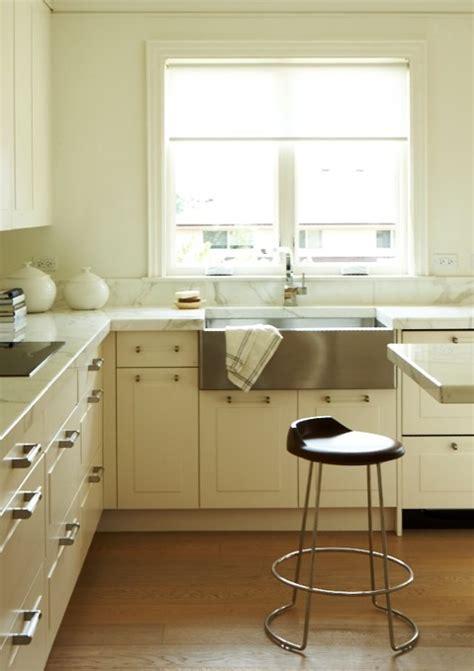 lucite pulls contemporary kitchen cameron macneil designer