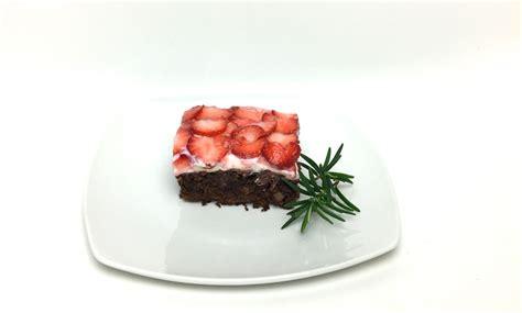 erdbeer brownies rezept webundwelt