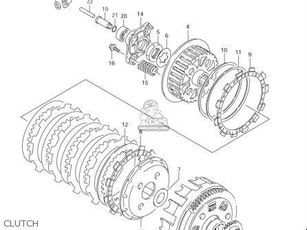 Suzuki Ls650 Parts by Suzuki Ls650 2005 K5 Usa E03 Parts List Partsmanual