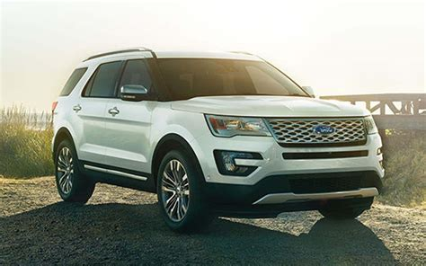2019 Ford Explorer Platinum Concept Redesign And Release