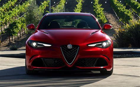 2017 Alfa Romeo Giulia Quadrifoglio Front View Hd