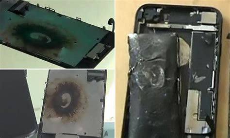 iphone explodes while charging apple iphone blew up with a loud while on charge 1558
