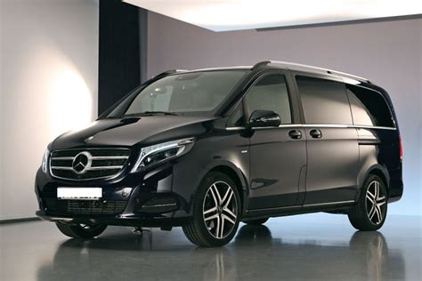 luxury minivan rental service  driver private
